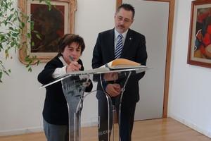 Visita del prefetto Bellomo al prefetto Pittella