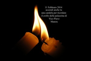 Una candela per vico Piave