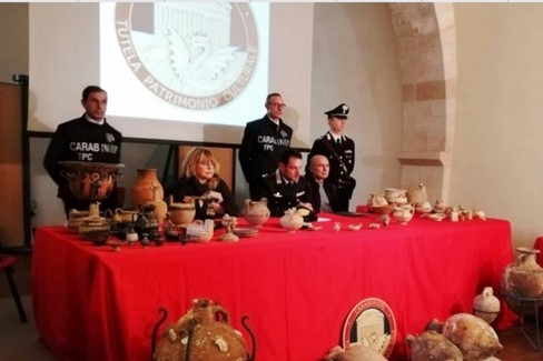 Carabinieri di tutela del patrimonio culturale
