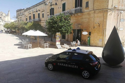 Carabinieri nei Sassi di Matera