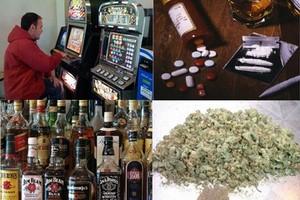 Dipendenze alcol droga gioco farmaci