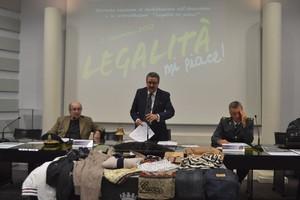 La conferenza in Camera di Commercio con la GdF