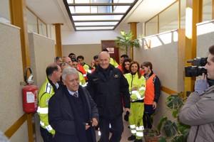 Gabrielli, Protezione Civile, a Montescaglioso