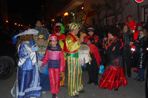 Sfilata di Carnevale. <span>Foto Vittoria Scasciamacchia</span>