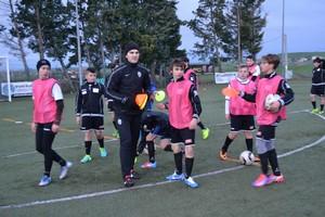 Visita del tecnico Luca Corona della Juventus Academy