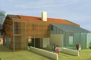Edilizia residenziale bioclimatica al borgo la martella