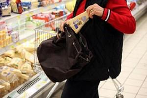 Taccheggio al supermercato