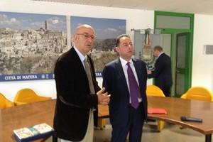 Matera2019, Adduce incontra l'europarlamentare Pittella
