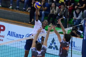 Luis Fernando in azione