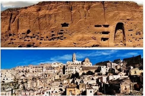 Matera e Bamiyan
