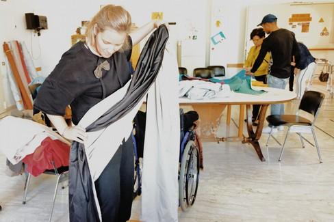 I sipari dell'artista Sandra Hauser presentati al Musma