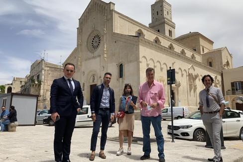 nella foto: Casino, Musolino, McVicar e Navarra