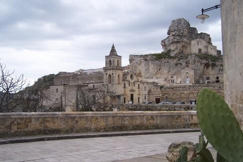 panorama Sassi