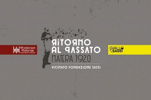 """Nei Sassi va in scena la seconda stagione di """"Ritorno al passato - Matera 1920"""""""
