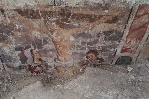ritrovamento edificio sacro ai Sassi
