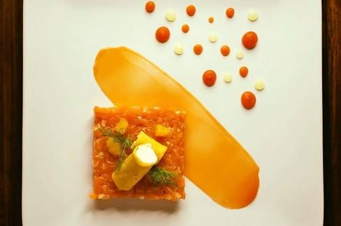 """Ricetta Salata """"Tartare agrumata"""""""
