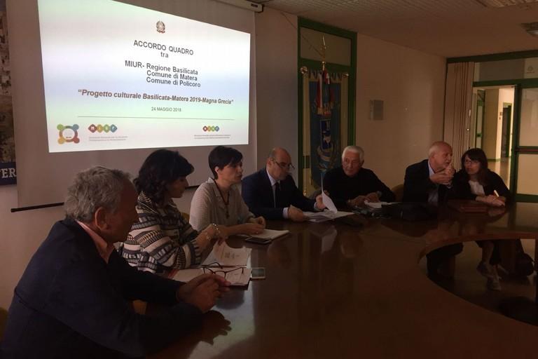 Progetto culturale Basilicata-Matera 2019 – Magna Grecia