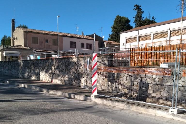 Muro da abbattere - La Martella