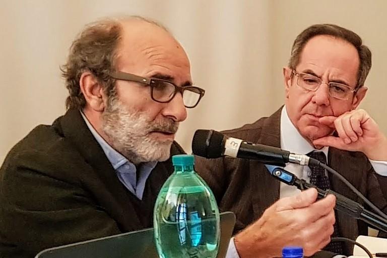 Nella foto: Michele Morelli a sinistra e Vincenzo Santochirico a destra