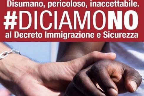 invito a dire no decreto Salvini