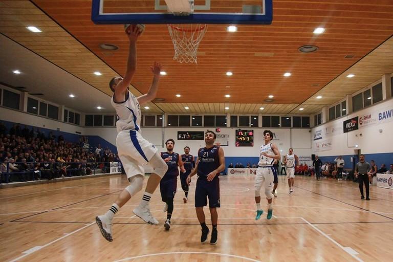 nella foto: Olimpia Matera vs Arechi Salerno. <span>Foto Roberto Linzalone</span>