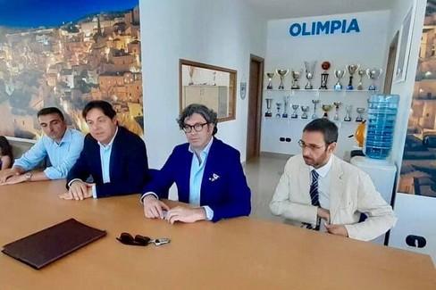 Olimpia, neo presidente e staff tecnico