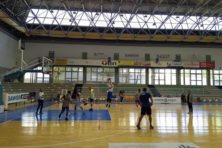 Olimpia Basket - allenamento