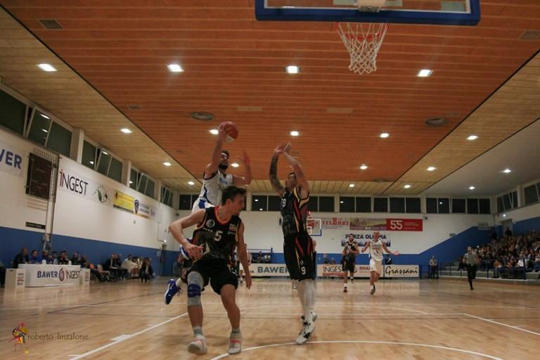 Olimpia Matera Vs Cassino. <span>Foto roberto Inzalone</span>