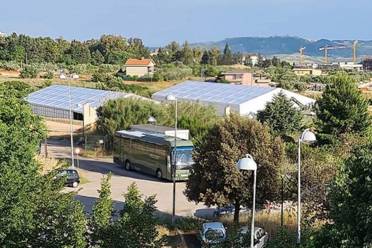 Ospedale da campo a Matera