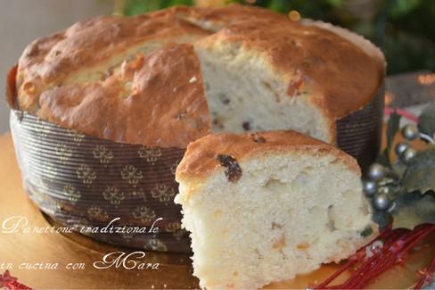 Panettone tradizionale ricetta Mariangela Raguso