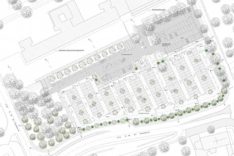 Progetto del Parcheggio al rione Lanera