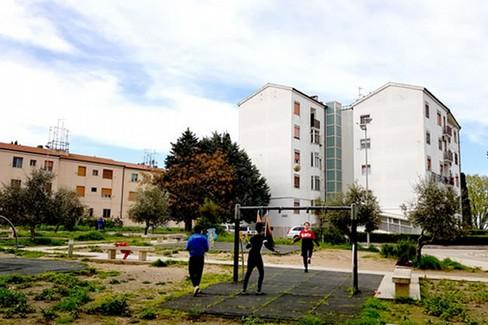 progetto parco quartiere Serra Venerdì