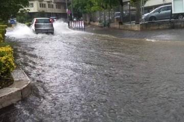 Pioggia a Matera