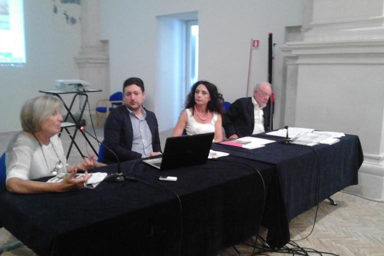 Assessore Poli Bortone alla presentazione del progetto sul patrimonio culturale di Basilicata