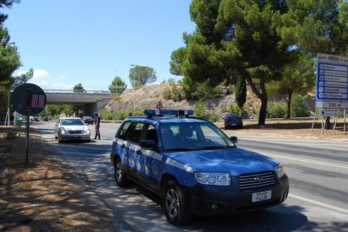 Polizia stradale di Matera