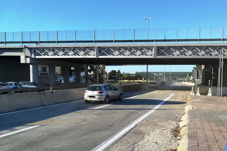 Statale 96, ripristinata la circolazione al ponte di Modugno