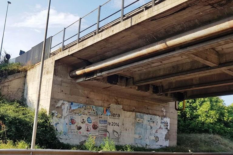 ponte strada statale 7 a matera