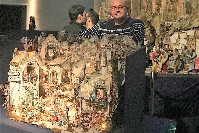 Mario Daddiego- presepe in mostra al Vaticano