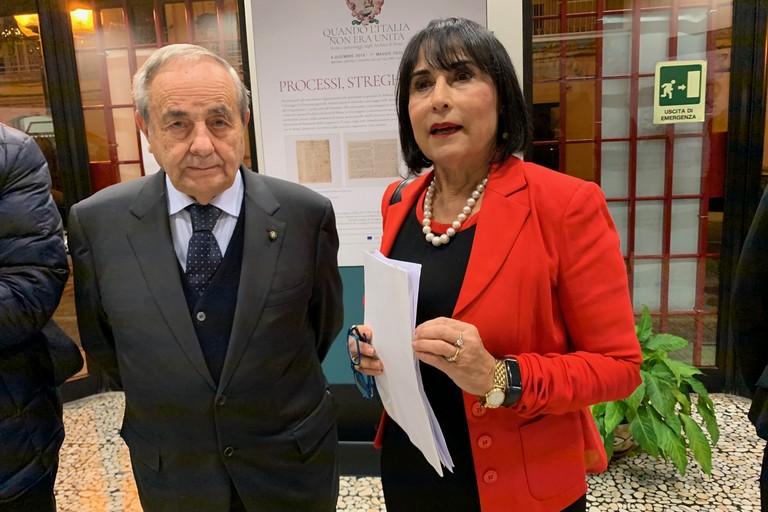 Raffaello De Ruggieri e Anna Maria Buzzi