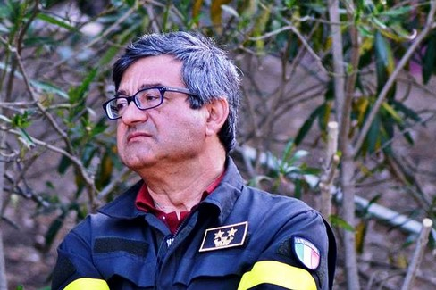 Salvatore Tafaro- nuovo comandante dei Vigili del Fuoco