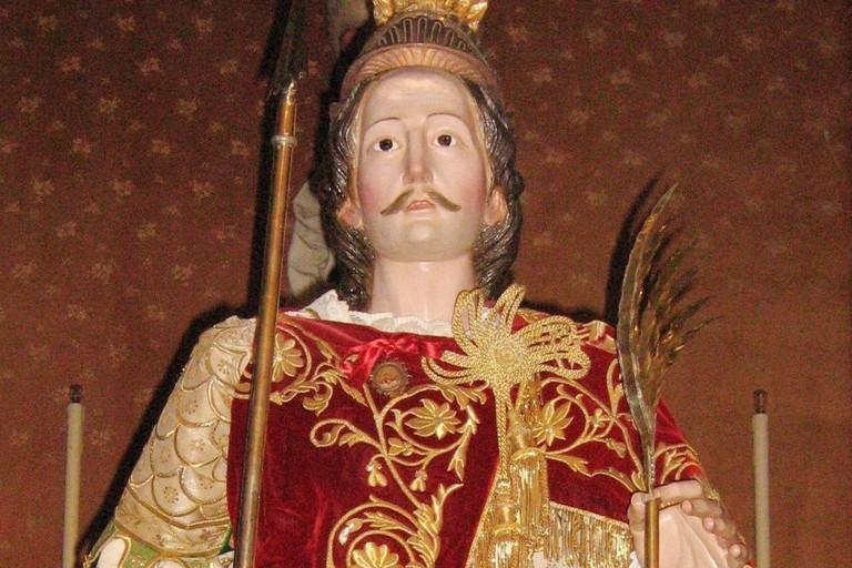 Statua sant'Eustachio
