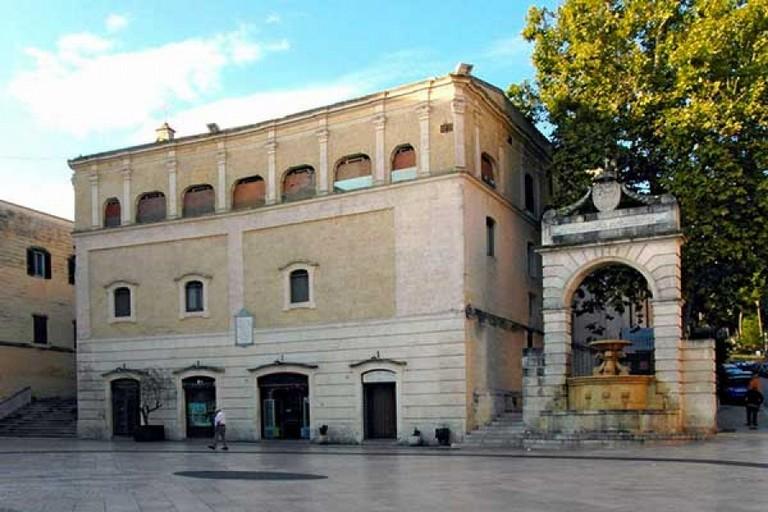 ex convento santa Lucia- sede dell'Iscr