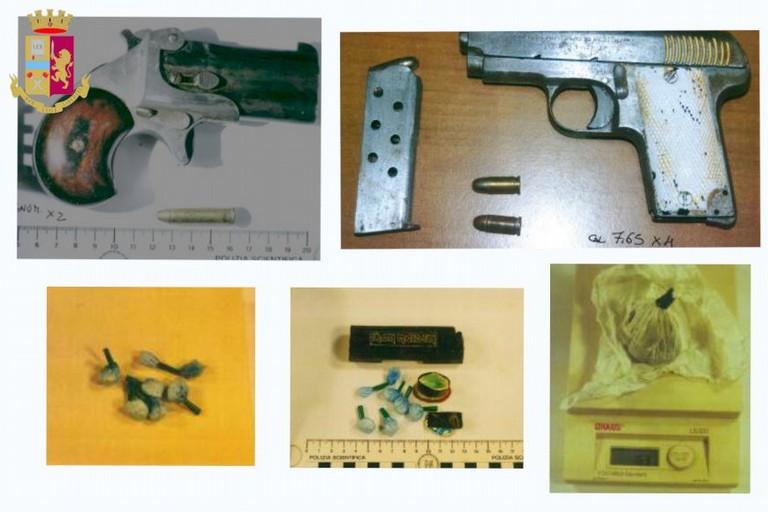 sequestro armi e droga