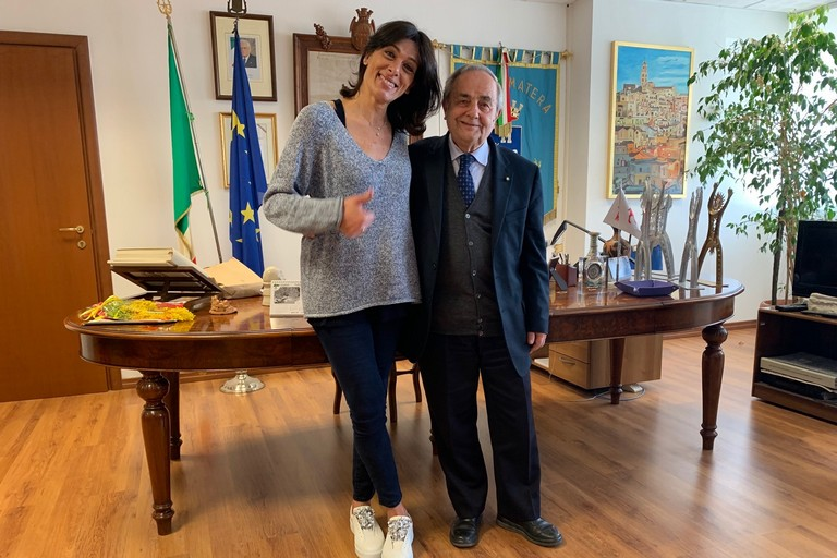 Raffaello De Ruggieri e Consuelo Mangifesta