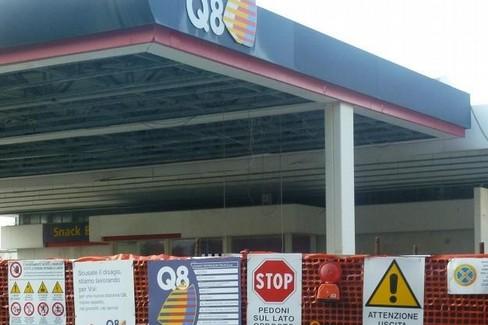 stazione di servizio Q8 - via Annunziatella