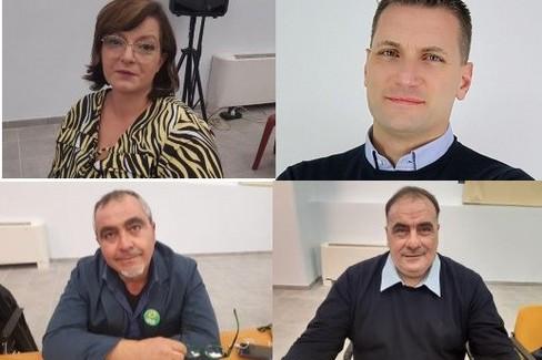 Consiglieri comunali Verdi: Stigliani-Iosca-Montemurro-De Palo