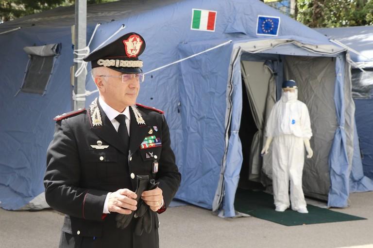 Il generale dei Carabinieri Rosario Castello