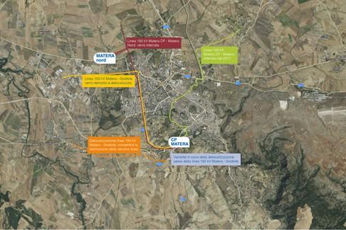 Mappa nuova rete elettrica