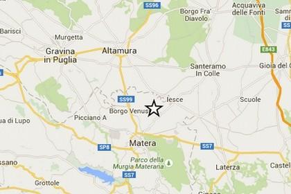 Terremoto Borgo Venusio