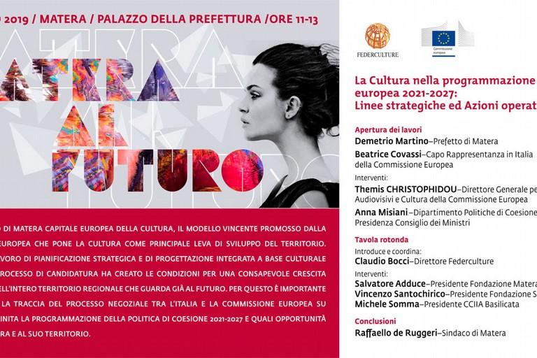 La Cultura nella programmazione europea 2021-2027
